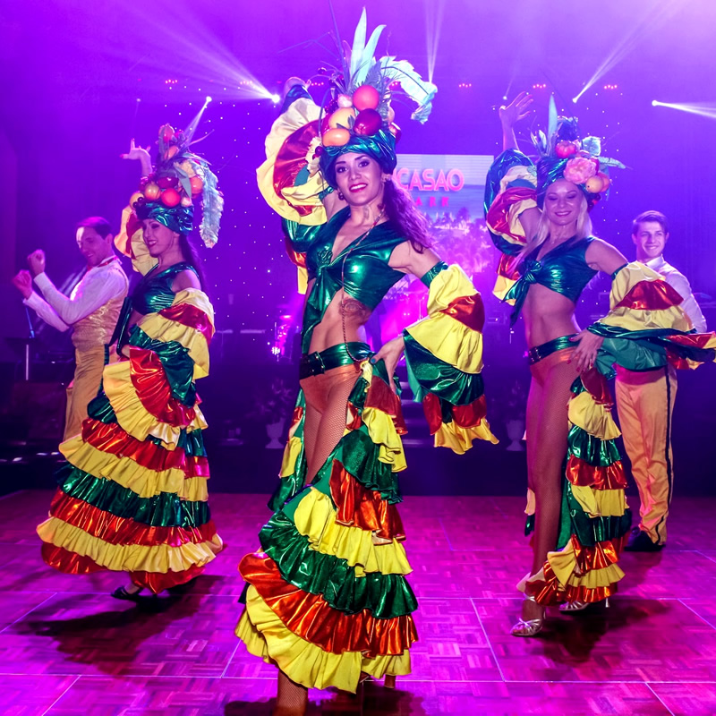 dansatori evenimente cabaret latino tropical trupa Wilmark Dance Academy