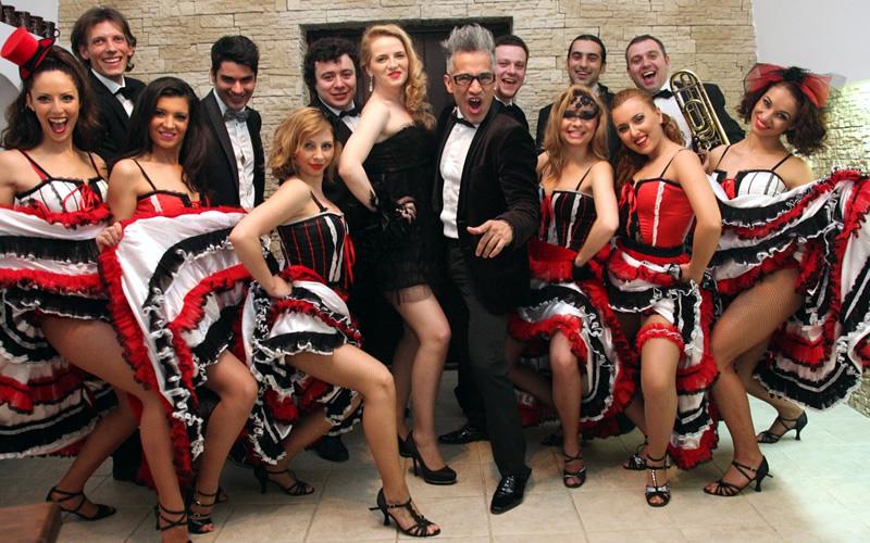 Dansatori evenimente Can can trupa Wilmark Dance Academy