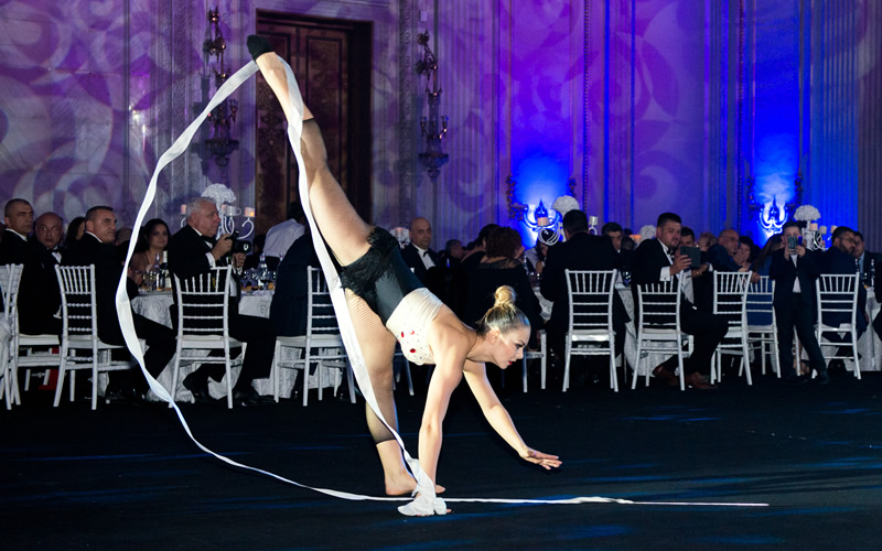 Show de dans si gimnastica cu panglica by wilmark